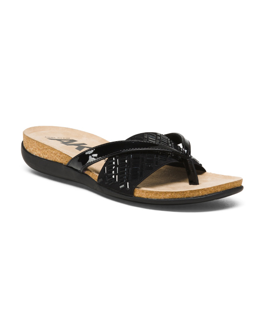 Glitz Comfort Footbed Slides