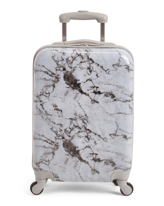 21in Marble Hardside Spinner Carry-on