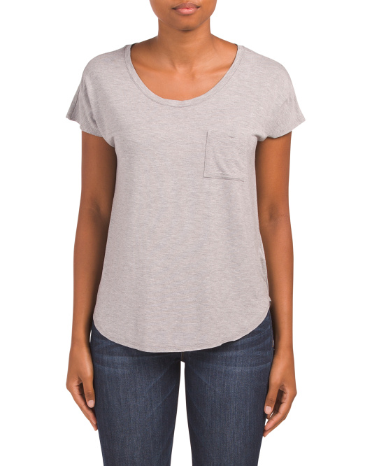 Dolman T-shirt With Pocket