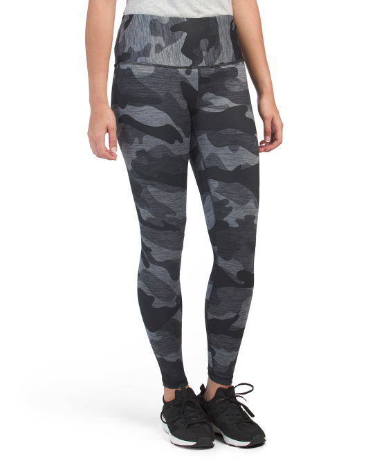 High Waist Camo Printed Leggings