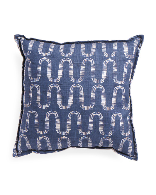 Made In Usa Swirl Pillow