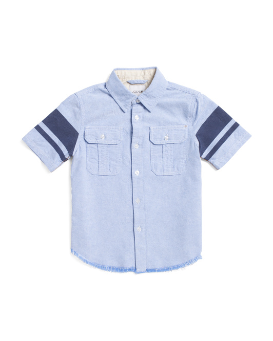 Little Boys Tyler Chambray Shirt
