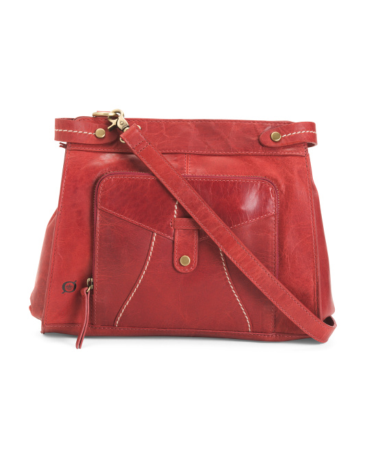 Kallista Leather Crossbody