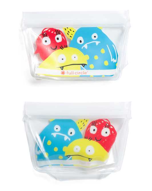 Kids 2pk Reusable Snack Bags