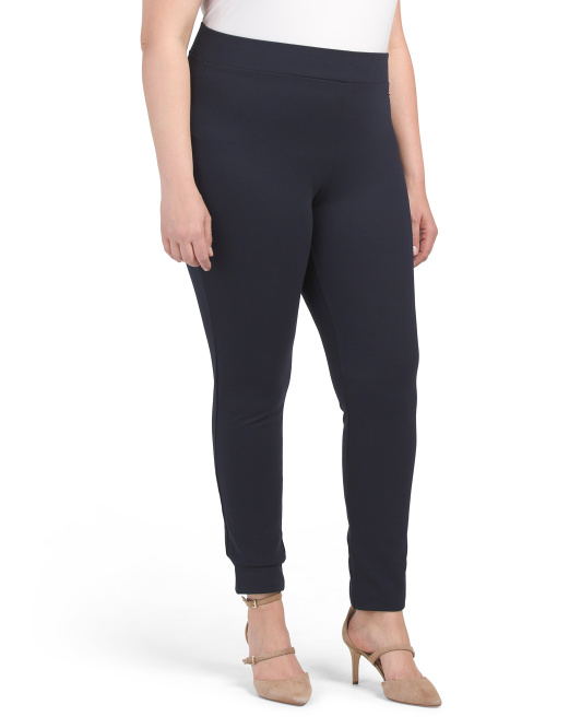 Plus Compression Ponte Leggings