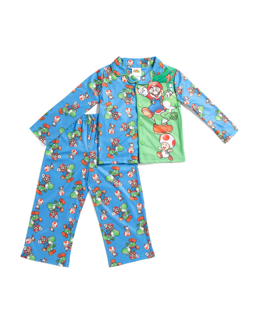 Boys 2pc Mario Sleep Set