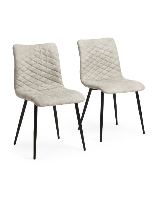Set Of 2 Eastwood Dining Chairs