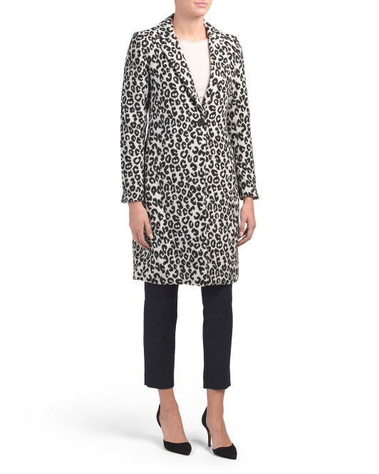 Snow Leopard Car Coat