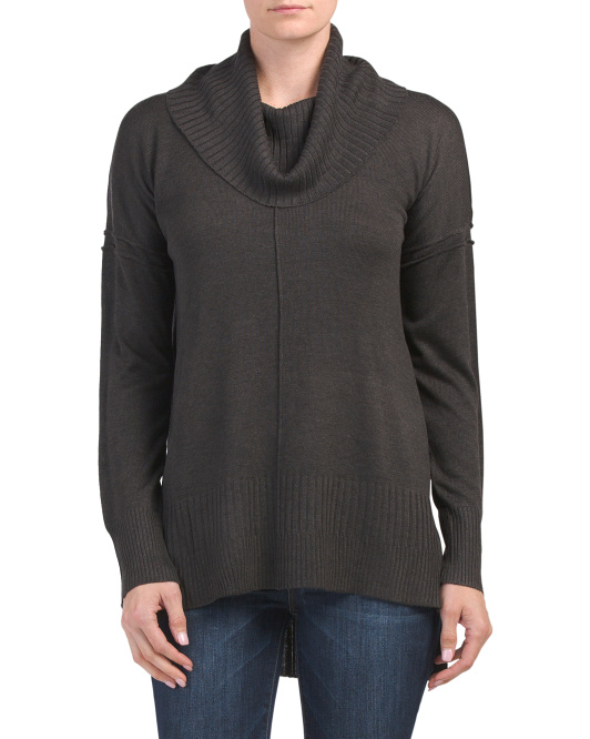 Cowl Neck Pull Over Tunic