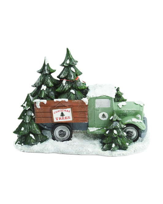 Truck With Christmas Tree