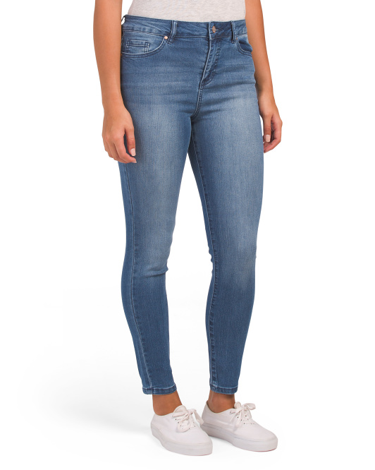 Comfort Fit Ankle Jeans