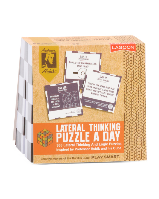 Rubiks Lateral Thinking Puzzle A Day Game