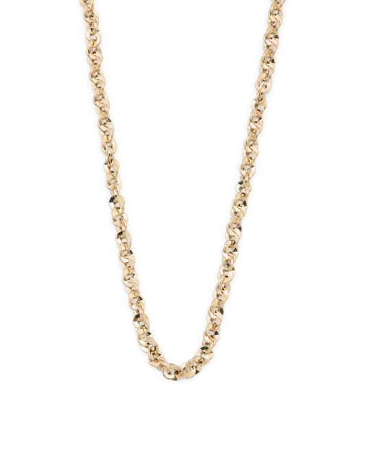 Made In Italy 14k Gold Abbracci Necklace