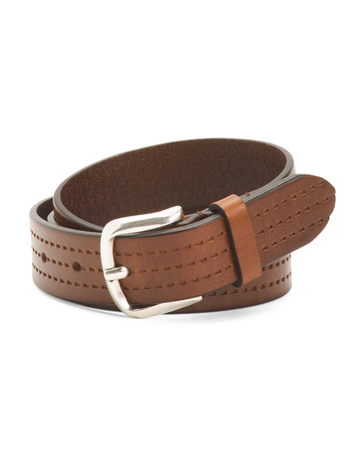 Women's Made In Italy Leather Belt