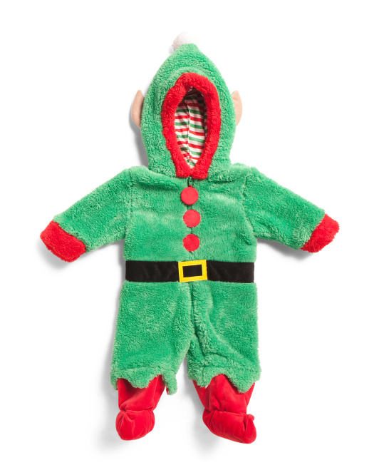 Baby Plush Elf Onesie