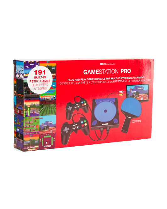 Gamestation Pro With 191 Built In Games