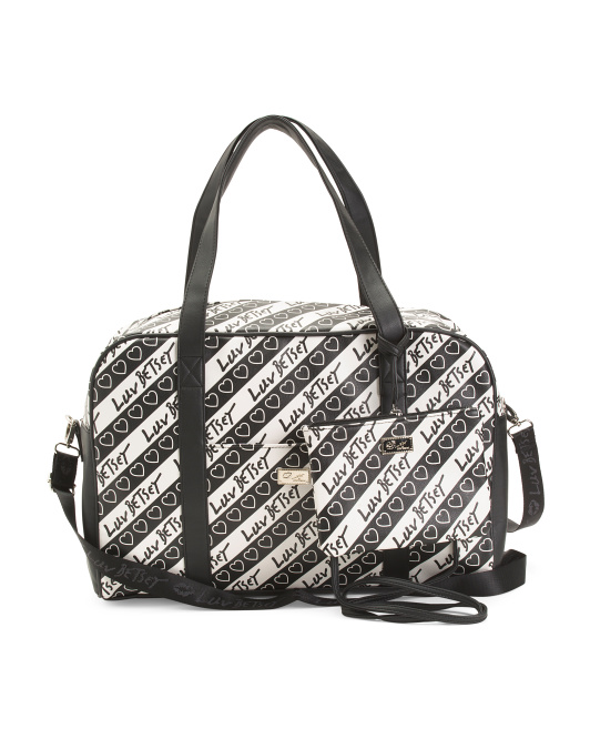 Weekender With Pass Through And Strap