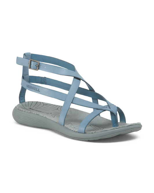 Lightweight Leather Comfort Sandals