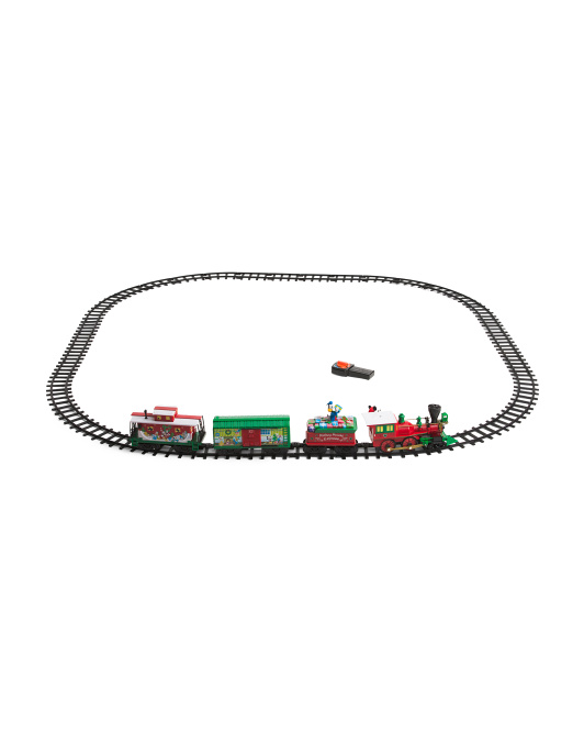 Mickey & Friends Express Set With Bonus 12 Pc Straight Track
