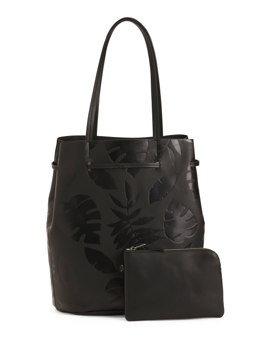 Dylan Leather Tote