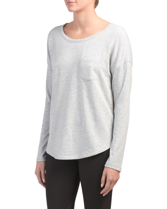 Brushed Inside Long Sleeve Top