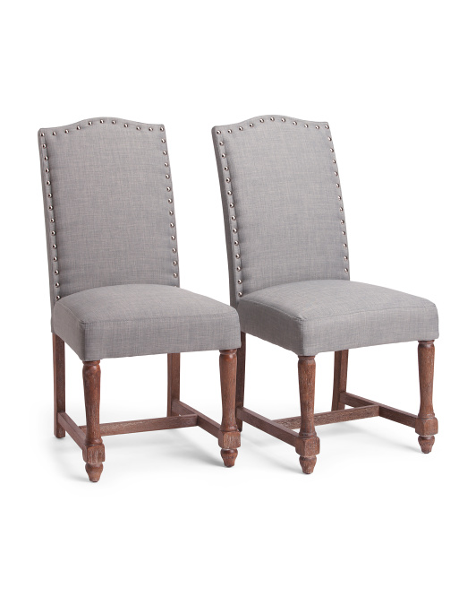 Set Of 2 Accent Side Chairs