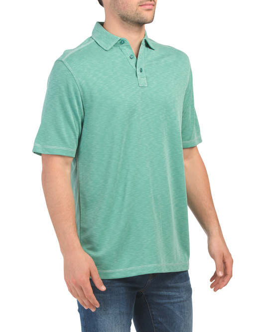 Short Sleeve Soft Touch Polynosic Polo
