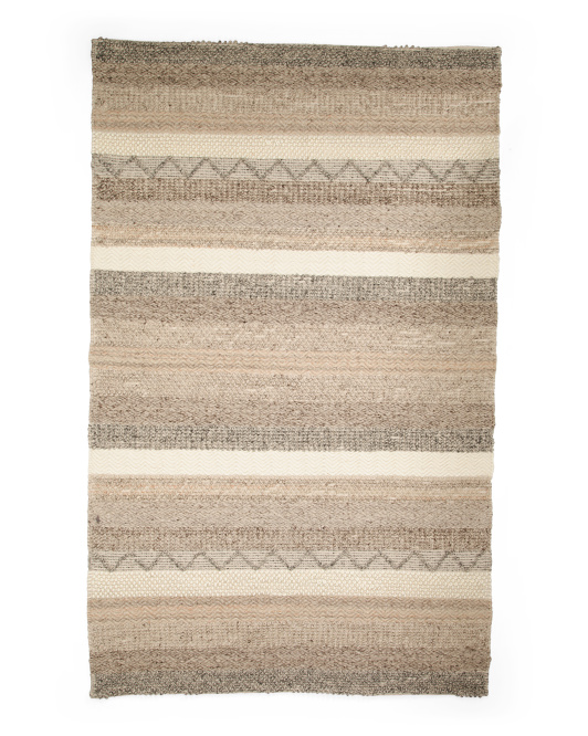 Made In India Contemporary Tufted Rug