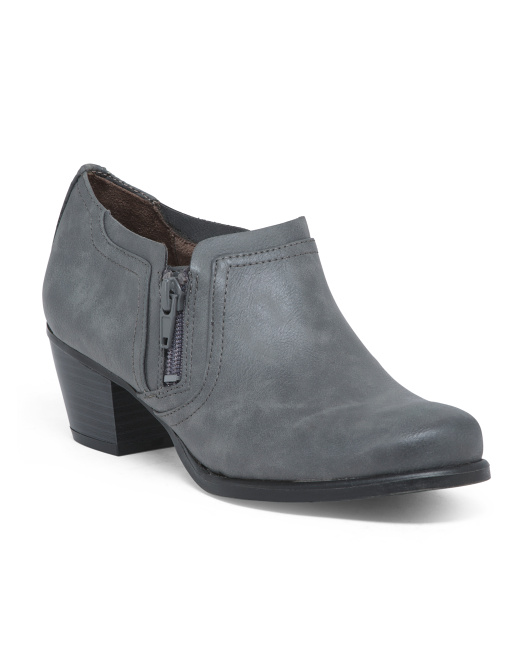 Comfort Ankle Booties