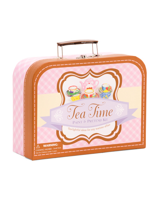Tea Time Paint & Pretend Set