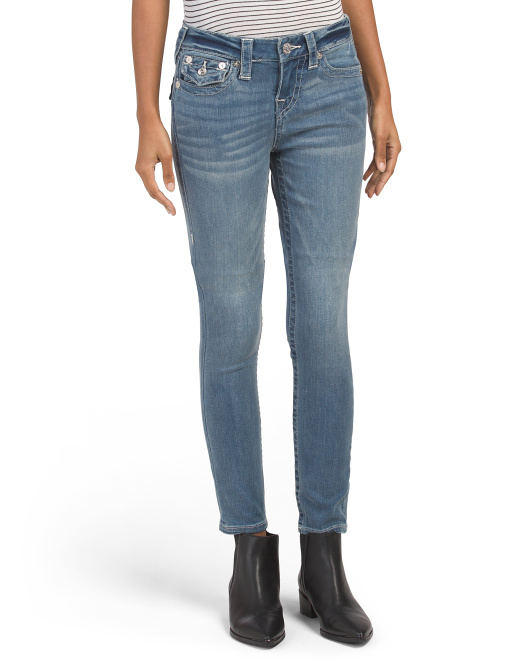 Halle Jeans With Flap Pockets