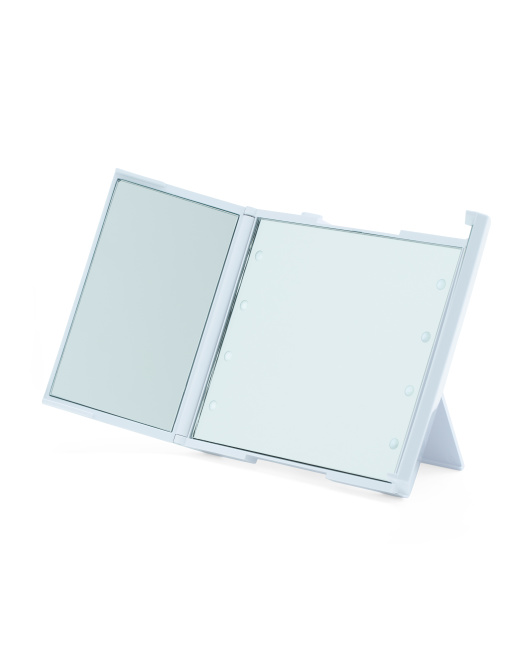 Revealight Trifold Compact Mirror