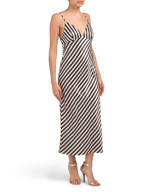 Australian Designed Spot Duke Bias Slip Dress by Tj Maxx