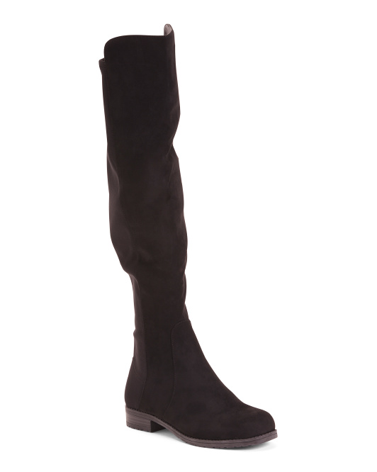 Stretch Knee Hight Boots