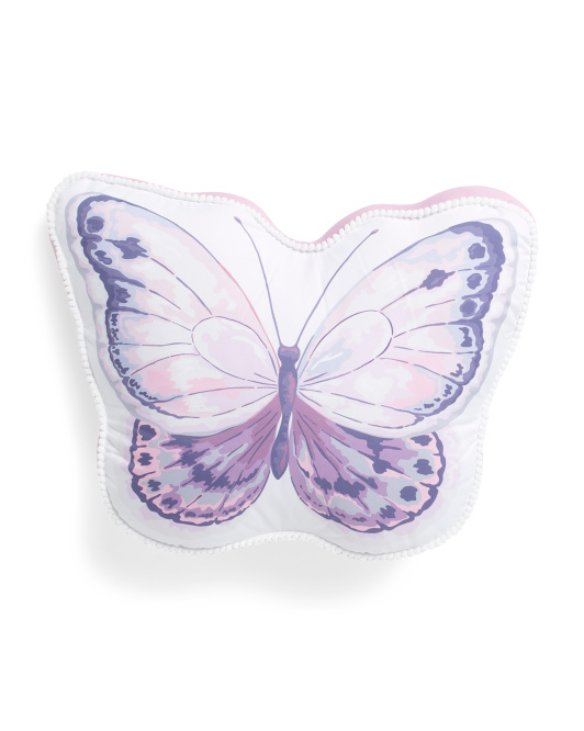 Kids 14x18 Shaped Butterfly Pillow
