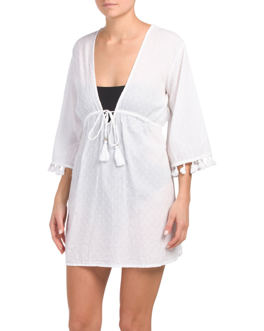 Dobby Tassel Cover-up