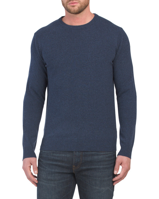 Made It Italy Cashmere Crew Neck Sweater