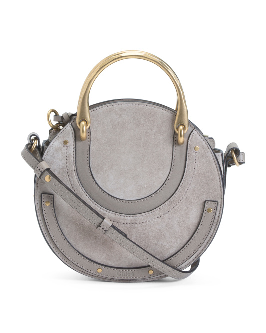 Made In Italy Pixie Small Leather Crossbody