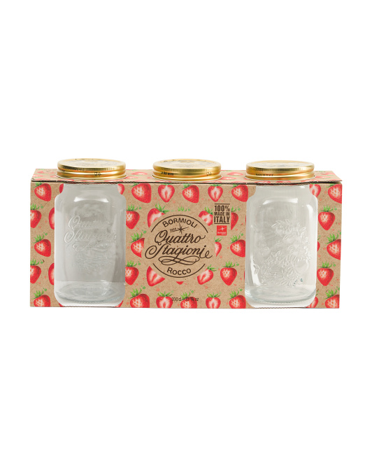 Made In Italy 3pc Quattro Stagioni Jar Set