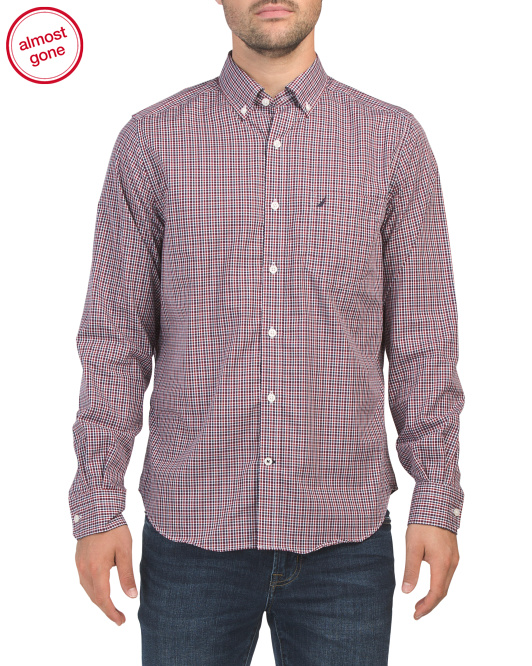 Wrinkle Resistant Cotton Check Shirt