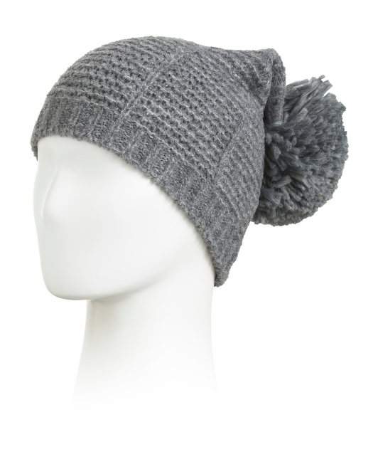 Made In Italy Wool Blend Hat