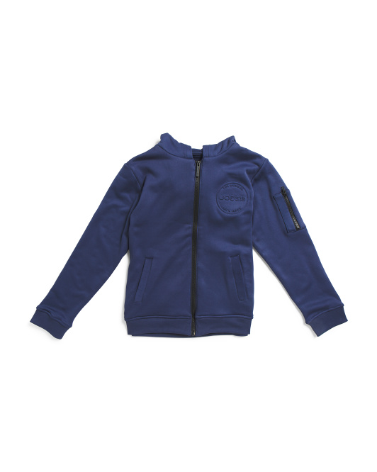 Big Boys Core Zip Up Hoodie