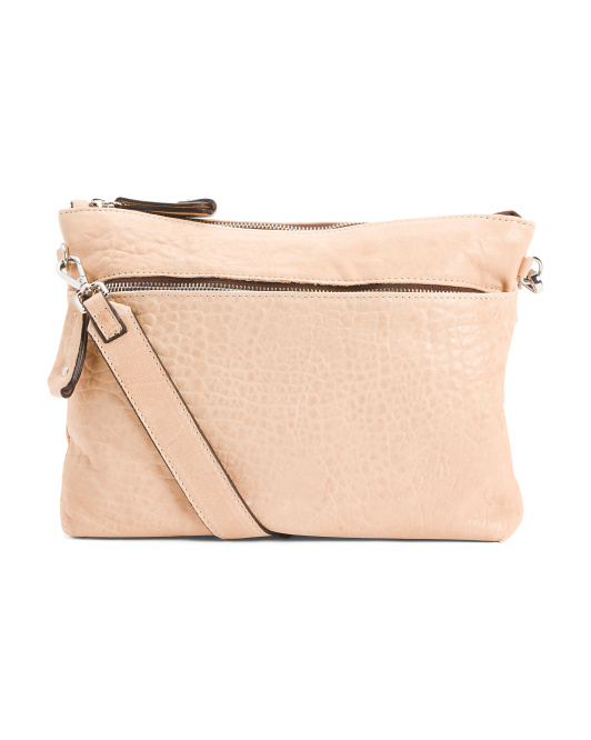 Made In Italy Leather Convertible Crossbody