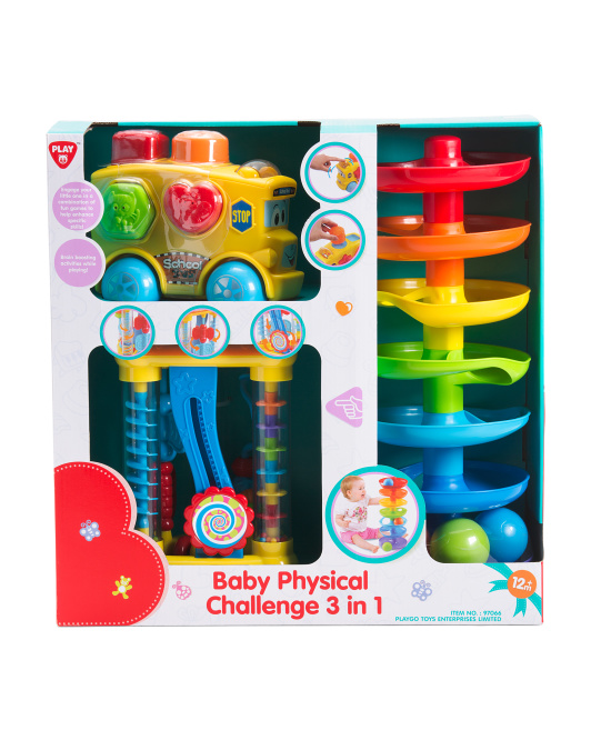 3 In 1 Physical Challenge Set