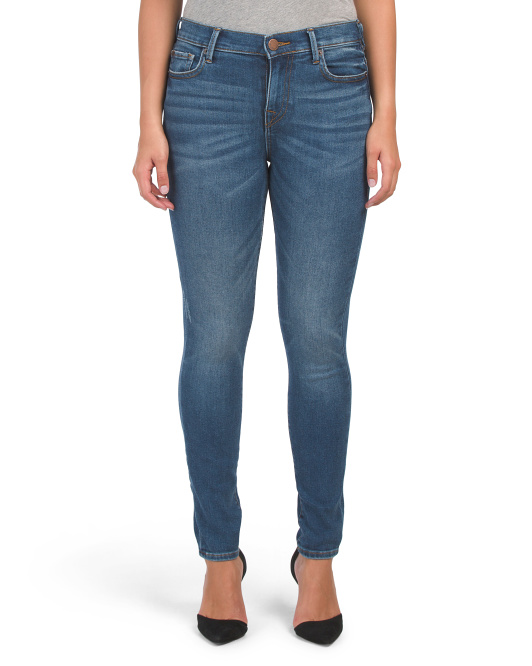 High Rise Vintage Stretch Skinny Jeans
