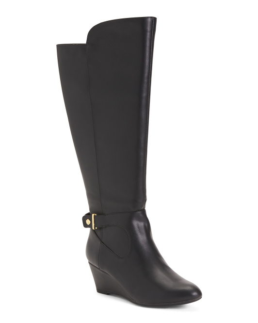 Wedge High Shaft Boots