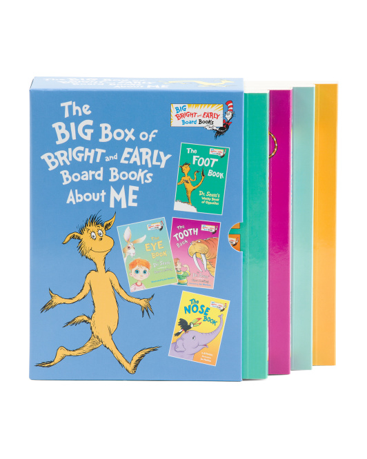 Big Box Of Bright And Early Board Books Box Set