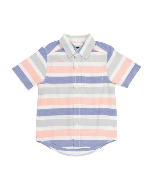 Boys Button Down Top