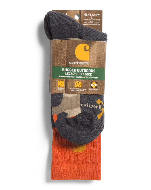 Out Work Out Hunt Crew Socks