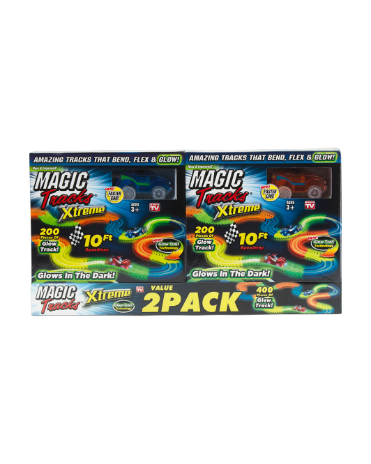 Set Of 2 Magic Track Extreme Sets